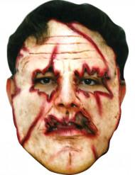 Moordenaar met verscheurd gezicht masker voor volwassenen