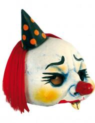 Masker van een boosaardige clown voor volwassenen Halloween