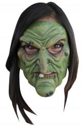 Masker van een boze heks voor volwassenen Halloween