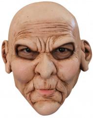 Masker van een ongelukkig gezicht voor volwassenen Halloween