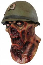 Zombie soldatenmasker voor volwassenen