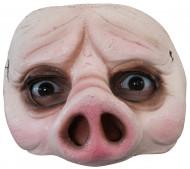 Halfmasker van een varken voor volwassenen