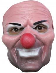 Masker van een boosaardige clown voor kinderen Halloween