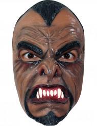 Latex weerwolven masker voor volwassenen