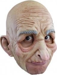 Oude man masker van latex voor volwassenen