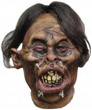 Halloweenversiering voodokop met rimpels