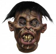 Halloweenversiering voodokop met hechtingen