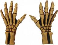 Skelethanschoenen voor volwassenen Halloween