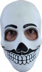 Wit masker voor mannen Dia de los Muertos