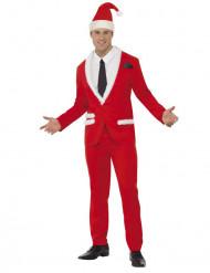 Kerstman gala kostuum voor heren