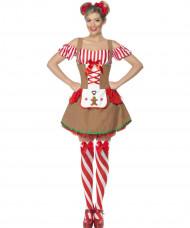 Kruidkoek kerst kostuum voor vrouwen