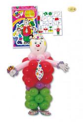 Kit reuzengroot mannetje uit ballonnen