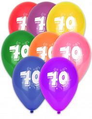 8 nummer 70 ballonnen