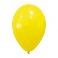 24 gele ballonnen van 25 cm