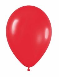 24 rode ballonnen van 25 cm