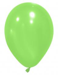 24 groene ballonnen van 25 cm