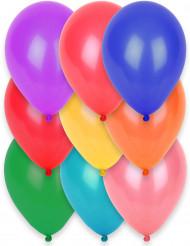 12 ballonnen in verschillende kleuren van 28 cm