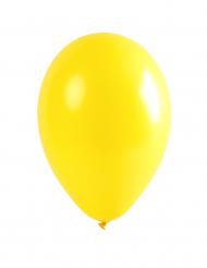 12 gele ballonnen van 28 cm