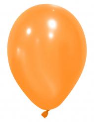 12 oranje ballonnen van 28 cm