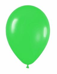 12 groene ballonnen