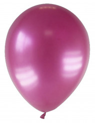 12 gemetalliseerde wijnrode ballonnen