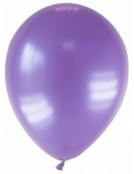 12 gemetalliseerde paarse ballonnen