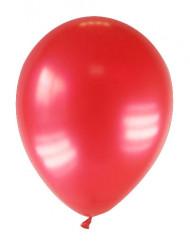 12 gemetalliseerde rode ballonnen