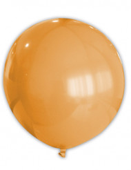 Reusachtige oranje ballon