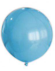 Reusachtige turkooizen ballon