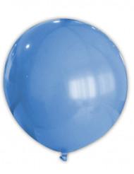 Reusachtige blauwe ballon