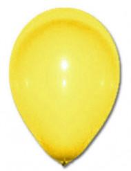 100 gele ballonnen van 27 cm