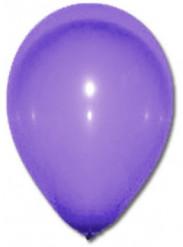 100 paarse ballonnen van 27 cm