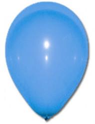 100 blauwe ballonnen van 27 cm