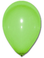 100 groene ballonnen van 27 cm
