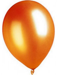 Oranje metallic ballonnen van 29 cm