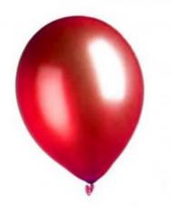 100 rode metallic ballonnen