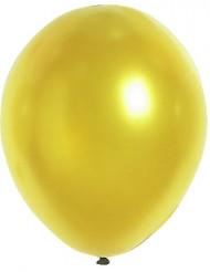 Goudkleurige metallieken ballonnen van 29 cm.