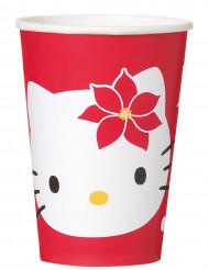 Kartonnen Hello Kitty™ bekertjes