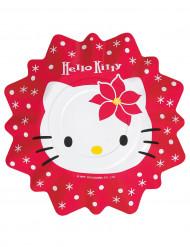 8 wegwerp borden Hello Kitty™