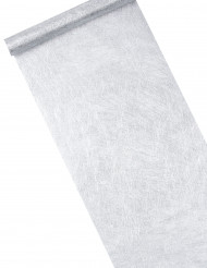 Zilverkleurig tafelloper