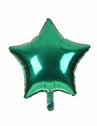 Groene ster ballon