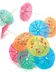 Set cocktailprikkers parasols