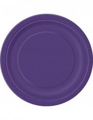 Grote paarse borden
