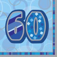 Servetten voor 60 ste verjaardag