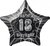 Grijze ballon 18 jaar