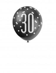 Grijze ballonnen 30 jaar