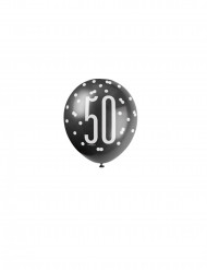 Ballonnen in het grijs nummer 50