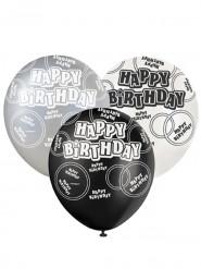 Set Happy Birthday ballonnen