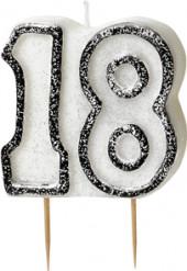 Verjaardagskaars 18 jaar
