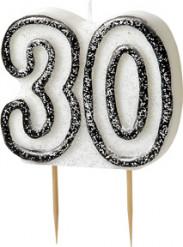 Kaars 30 jaar